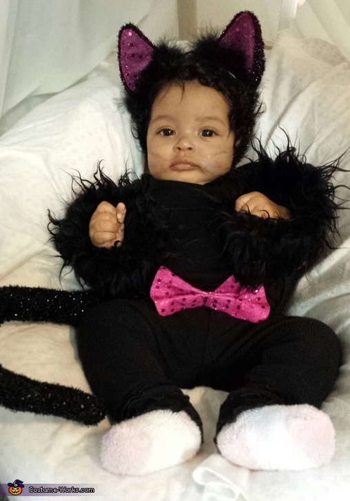 Little Black Kitten Baby Costume