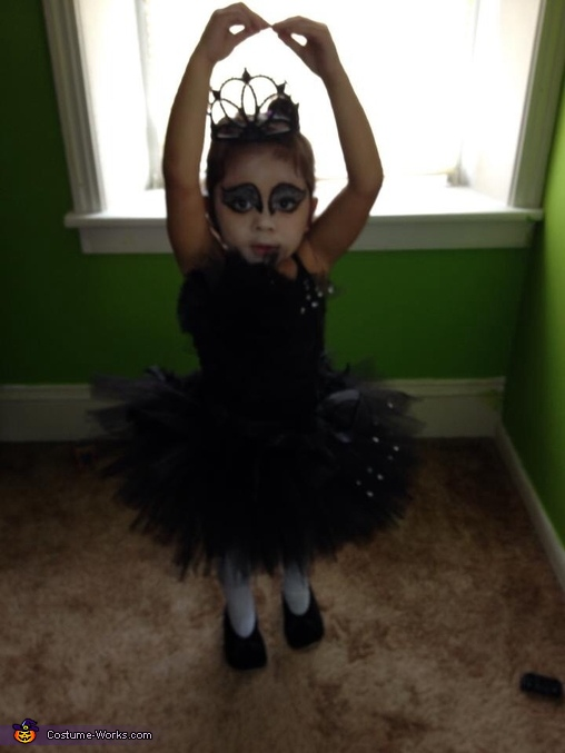 Little Black Swan Homemade Costume
