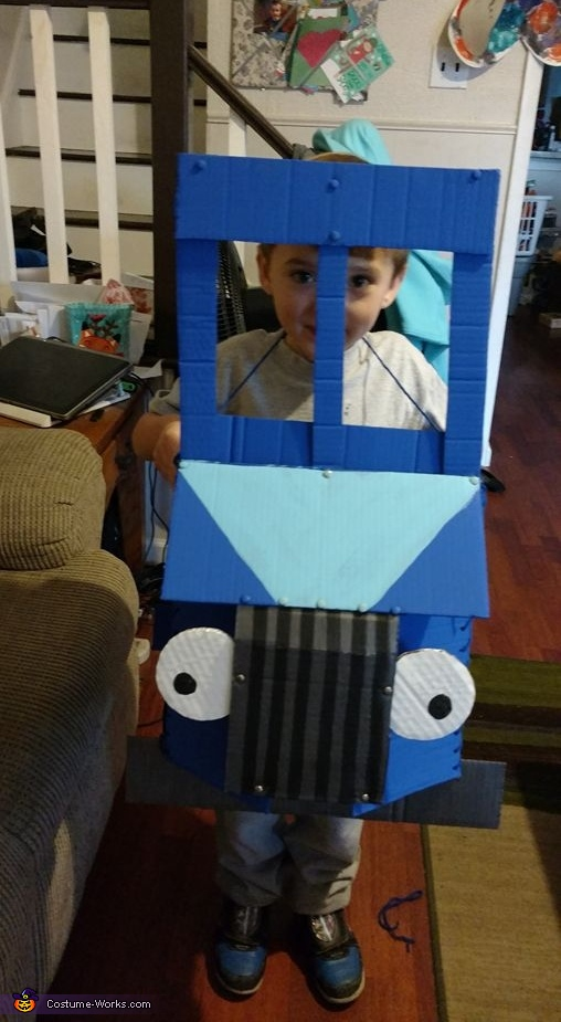 Little Blue Truck Costume