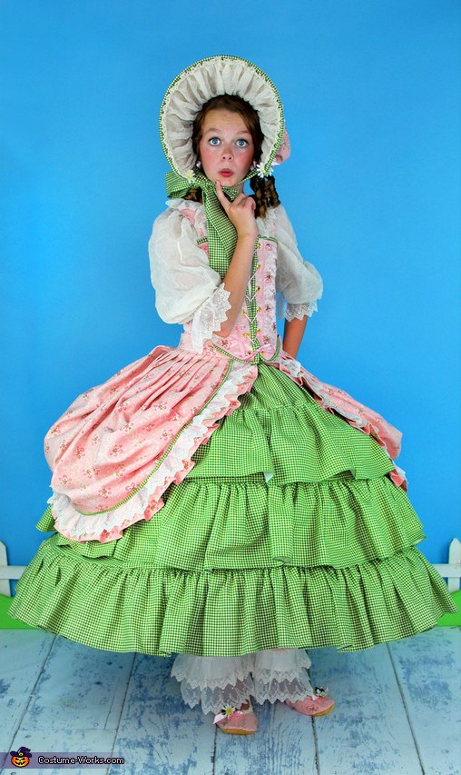 Frilly, Feminine, Little Bo Peep Costume