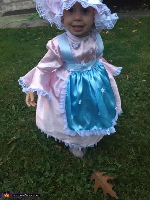 Little Bo Peep Homemade Costume