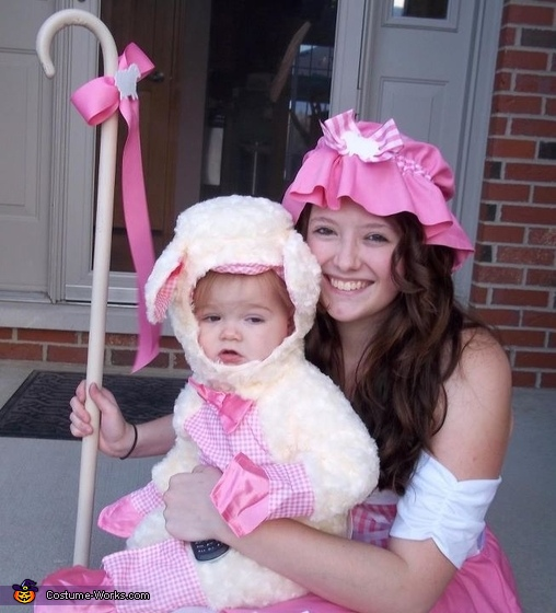 Little Bo Peep and Her Sheep Costume