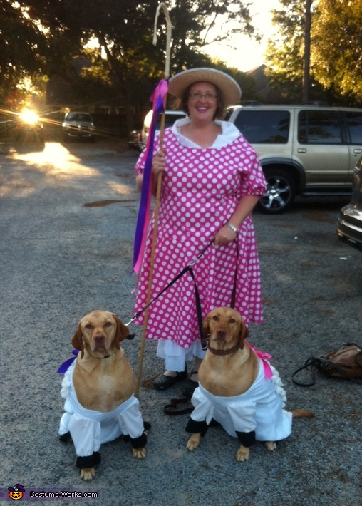 Little Bo Peep and Sheep Costume