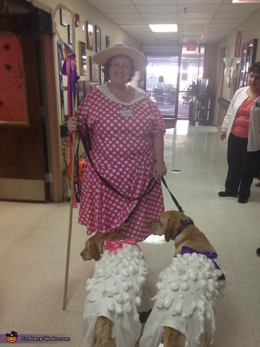 Bo peep and sheep working it, Little Bo Peep and Sheep Costume