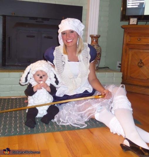 Little Bo Peep & her Sheep Costume