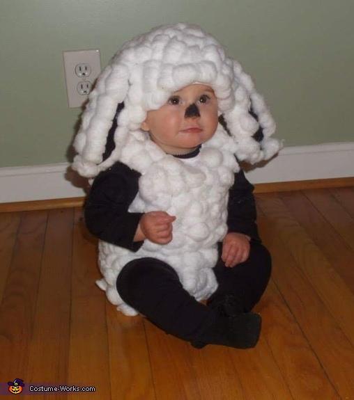 Little Bo Peep & her Sheep Homemade Costume