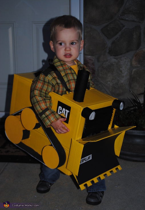 Little Bulldozer Costume