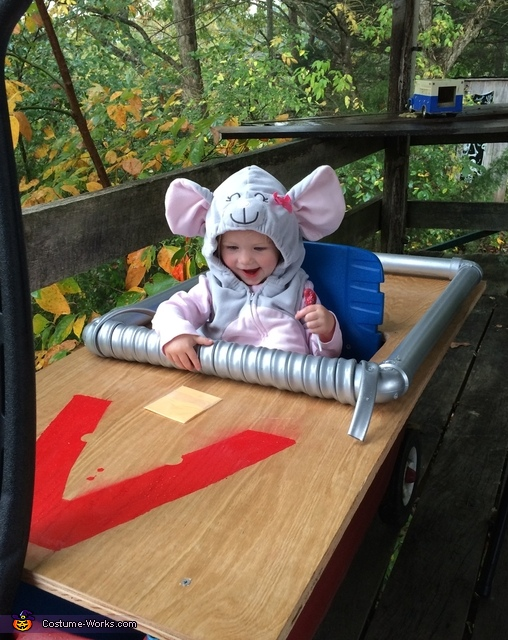 Little Caught Mouse Baby Costume
