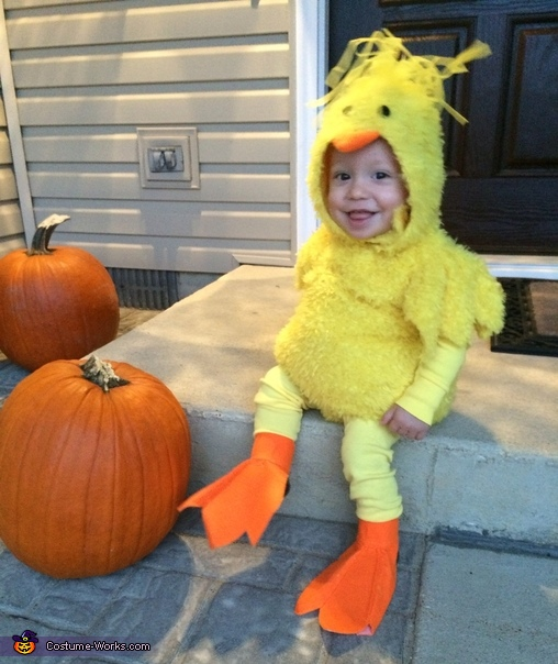 Little Chicken Baby Costume