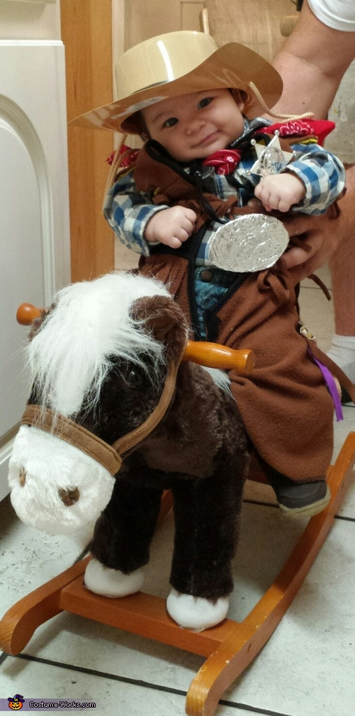Little Cowboy Baby Costume