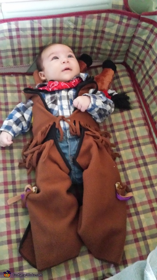 Little Cowboy Homemade Costume