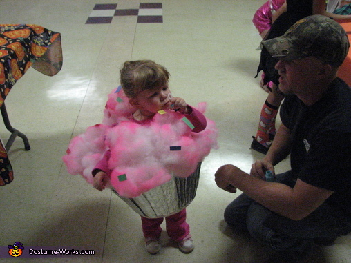 Little Cupcake Homemade Costume