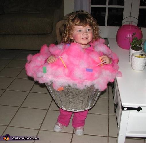 Cupcake Baby Costume