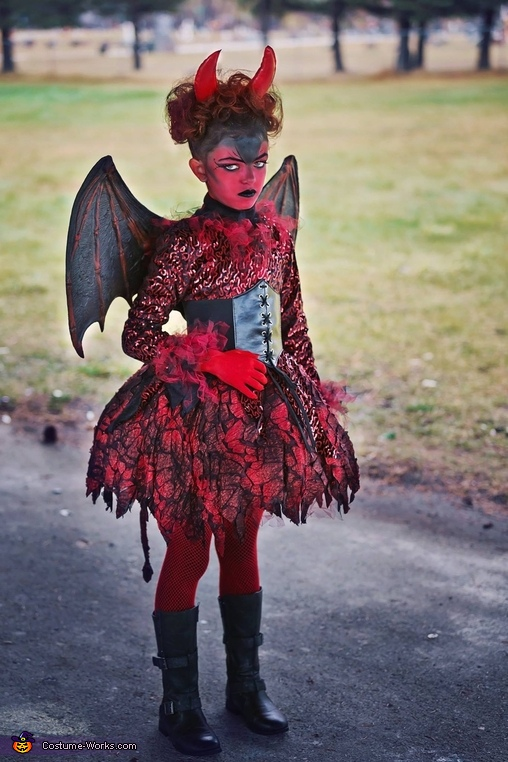 Little Devils Homemade Costume