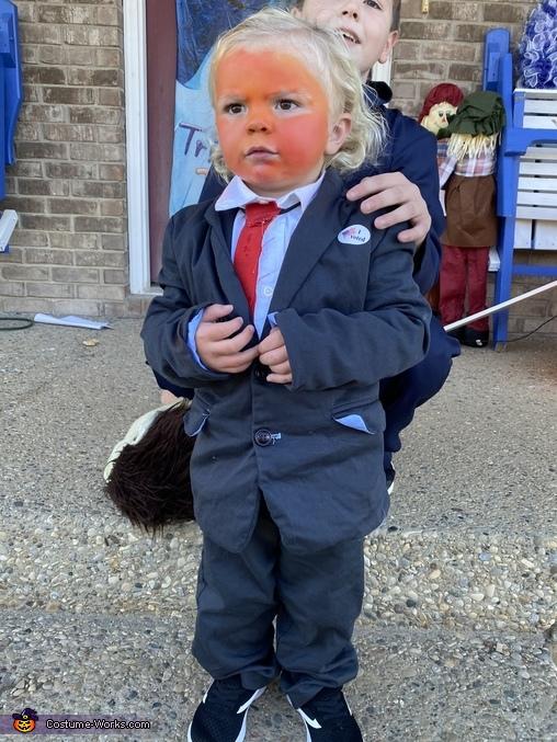 Little Donald Trump Costume