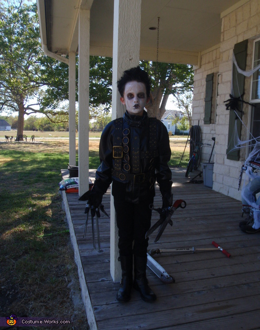 Little Ed #2, Little Ed Scissorhands Costume