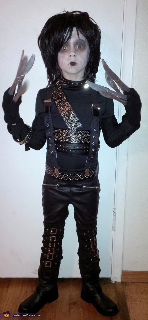 little edward scissorhands, Little Edward Scissorhands Costume