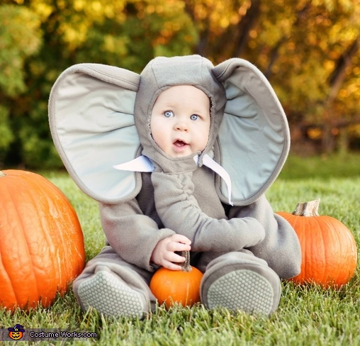 Little Elephant Baby Costume