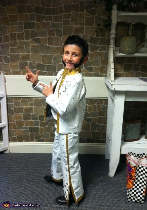Little Elvis Costume