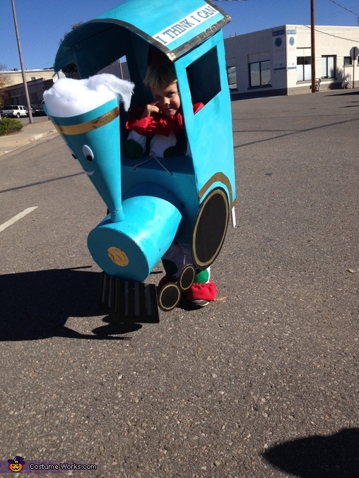 Little Engine That Could Homemade Costume