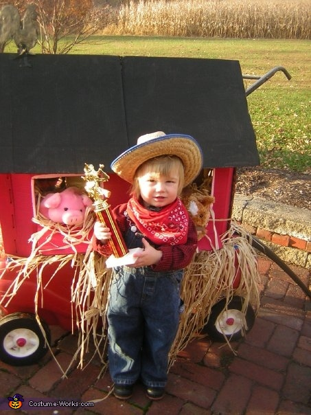 Little Farmer Costume