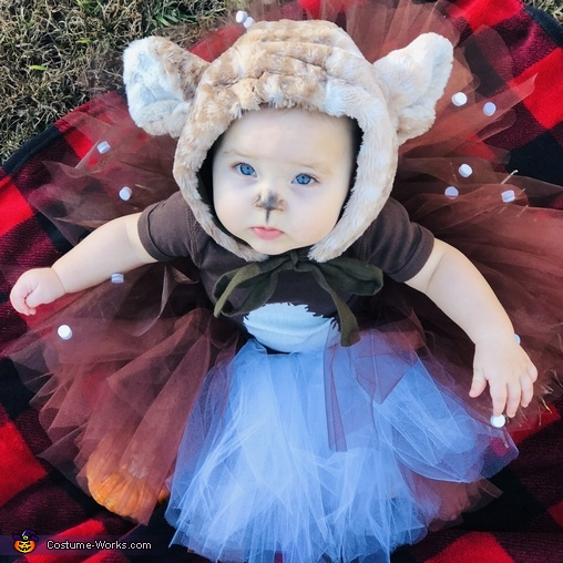 Little Fawn Homemade Costume