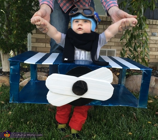 My first Halloween costume- fighter pilot, Little Fighter Pilot Costume
