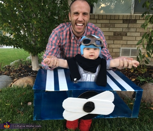 Fighter pilot and dad, Little Fighter Pilot Costume