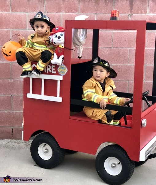 Little Fire Fighters Costume