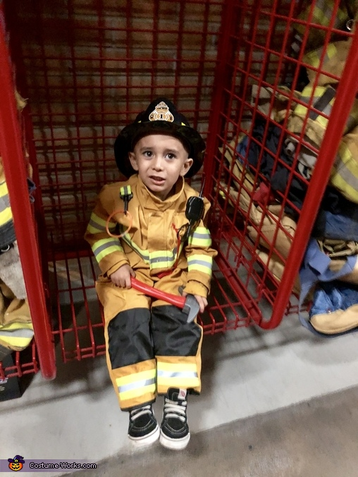 What a day!, Little Fire Fighters Costume