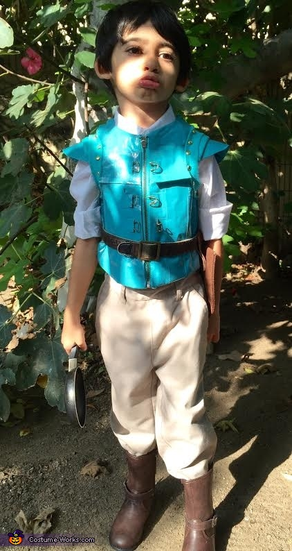 Here comes the smolder..., Little Flynn Rider Costume