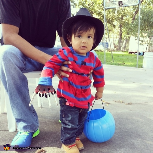 Little Freddy Krueger Baby Costume