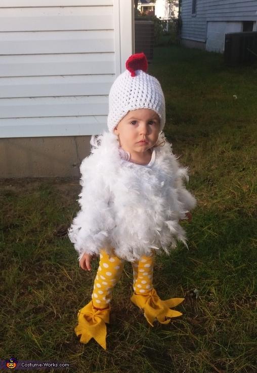 Little Free Range Chicken Costume