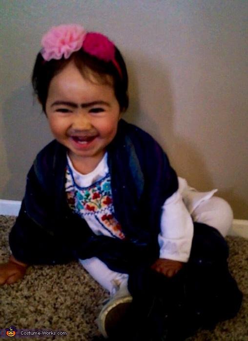 Little Frida Kahlo Costume