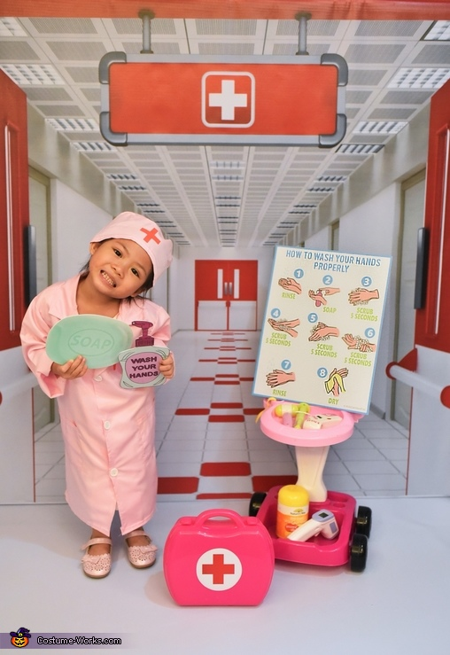 Proper Handwashing, Little Frontliners Costume