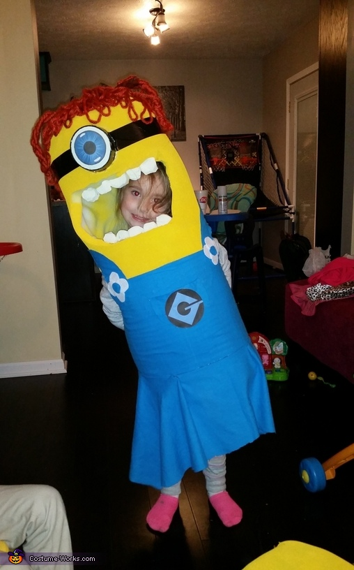 Little Gal Minion Costume
