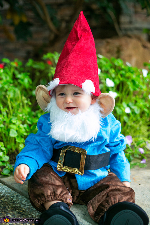 Little Garden Gnome Costume