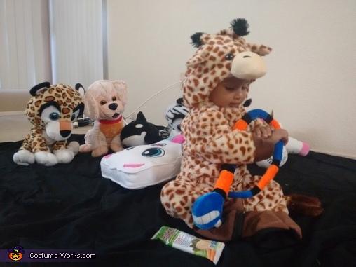 Busy Giraffe, Little Giraffe Costume