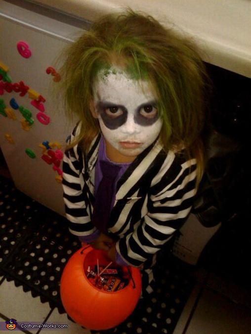 Little Girl Beetlejuice Costume