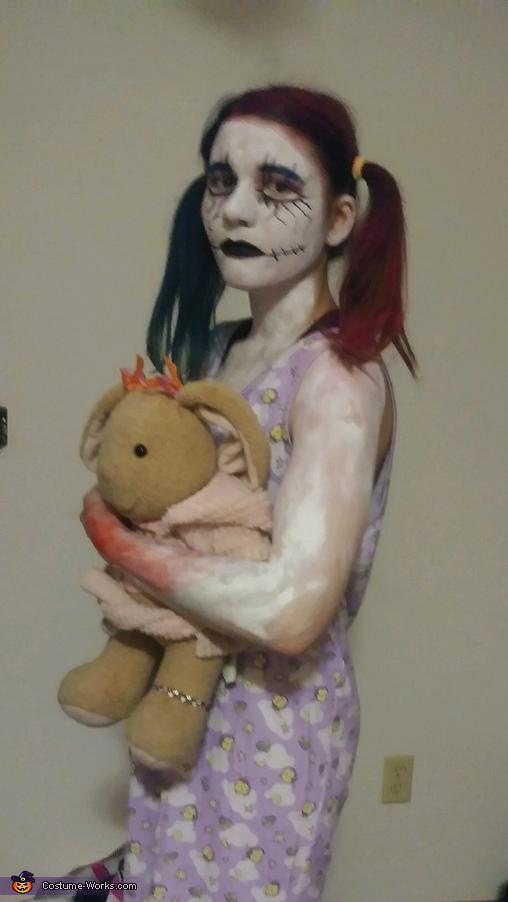 Little Girl Demon Child Homemade Costume