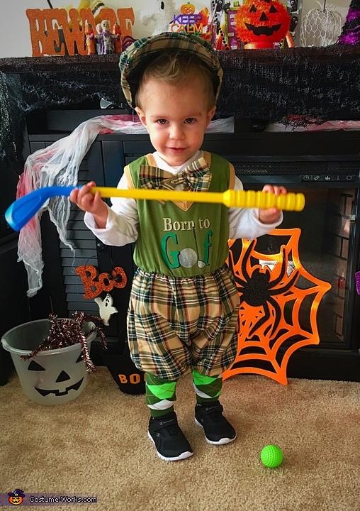 Little Golfer Costume
