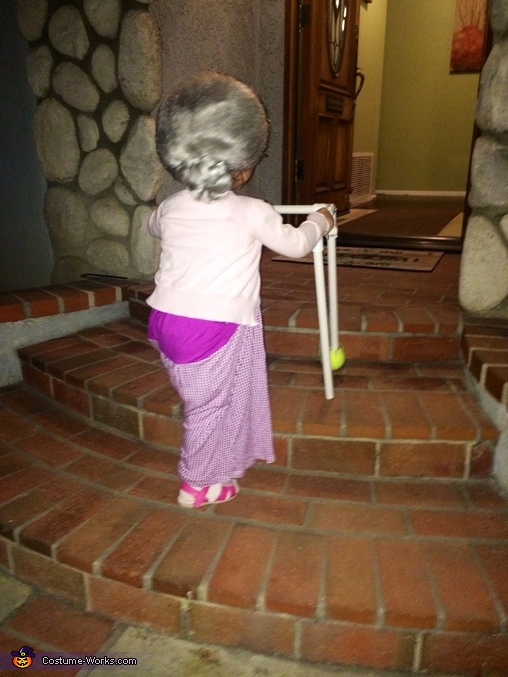 Little Granny Homemade Costume