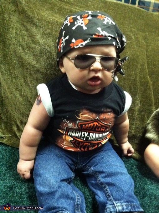 Kids Biker Halloween Costume