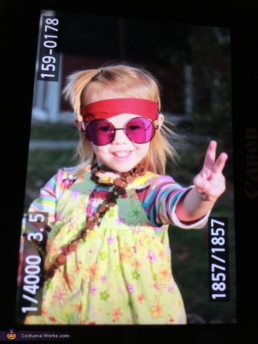 Little Hippy Homemade Costume