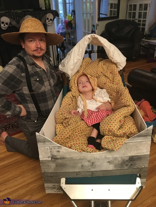 Pa and Mary, Little House on the Prairie Family Costume