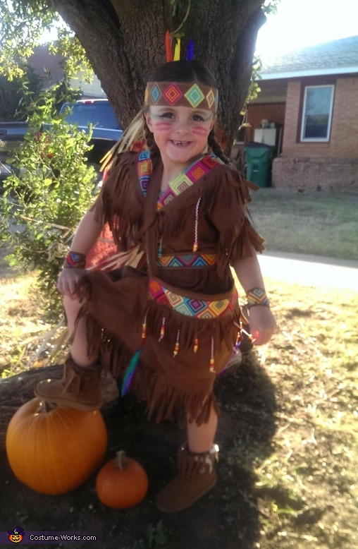 Little Indian Princess Costume