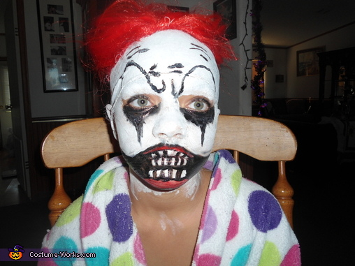 Then the mouth!, Little Insane Clown Costume
