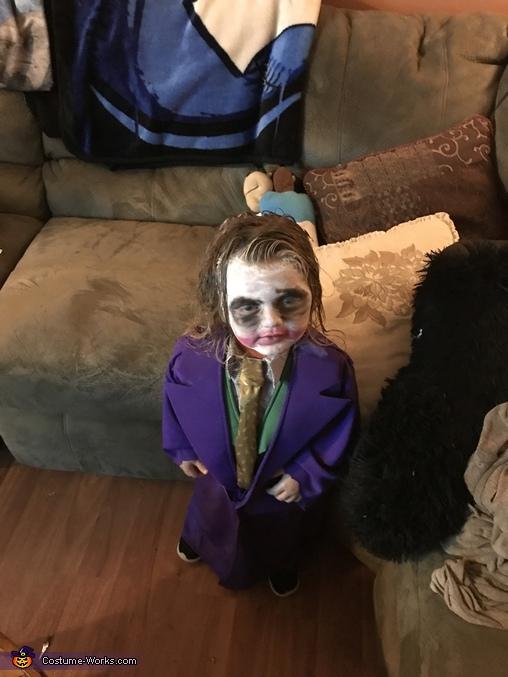 Little Joker Homemade Costume
