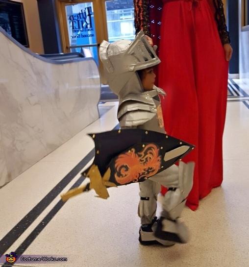 Little Knight in Shining Armor Homemade Costume
