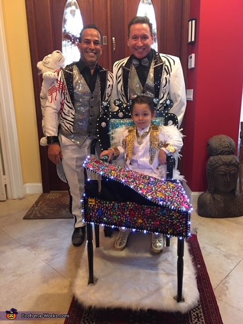 Little Liberace and the Siegfried Brothers Costume